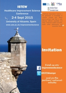 afis ISTEW Conference Alicante 2015